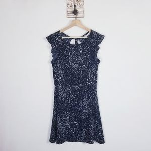 Cupcakes and Cashmere NEW Mini Dress open back sz6